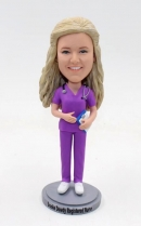 Custom Nurse bobblehead-female