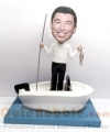 Boating and fishing bobble heads