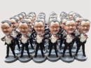 25 Custom bobbleheads Bulk Order Gift for group free shipping