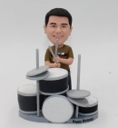 Rock Band Drummer custom Bobbleheads