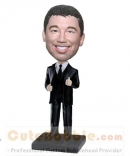 Custom bobbleheads with Thumbs up