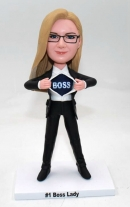 Super Boss/Leader Bobblehead- Female
