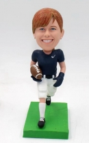 Custom bobblehead - Football player female