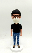 Custom bobblehead-Doctor wear a mask