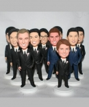 Groomsman / Bridesmaid Wedding Party bobbleheads gifts