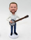 Playing Banjo bobblehead