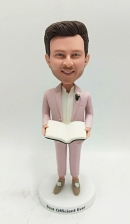 Custom bobbleheads-wedding officiant
