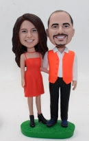 Custom bobbleheads -For Lovers Cake toppers
