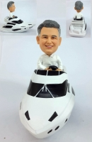 Custom Yacht Bobblehead doll