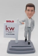 Custom Realtor Bobbleheads