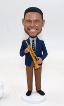 Custom Trumpet player Bobbleheads