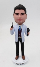 Custom stylish man bobblehead