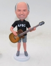 Custom Guitarist bobblehead
