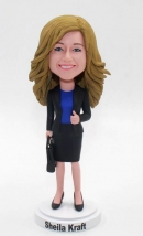 Personalized bobblehead- Office lady