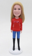 Custom bobbleheads doll-Best present