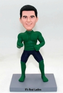 The Hulk custom bobblehead