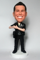 Custom bobbleheads-Police officer