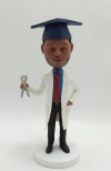 Custom bobblehead-Dentist with graduation cap