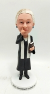 Personalized bobblehead doll-gift for wedding officiant