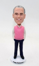 Custom bobbleheads- Best retirement gift