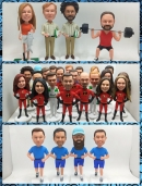 Custom bobbleheads dolls-Christmas gifts for team