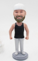 Muscle man custom bobbleheads