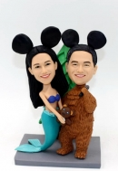 Custom bobbleheads-Make Your Own Cake topper