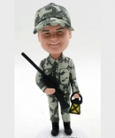 Custom hunter bobblehad in Camo