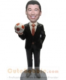 Custom bobblehead with soccer