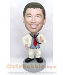 Doctor bobblehead with stethoscope