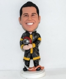 Firefighter custom bobbleheads