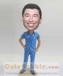 Male nurse custom bobbleheads