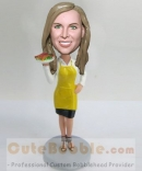 Custom bobblehead-Waitress