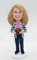 Personalized bobblehead doll
