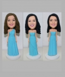 Custom bridesmaid bobbleheads-wedding gifts