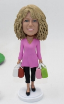 Custom housewife bobbleheads