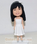 custom flower girl bobblehead
