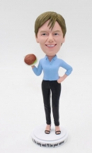 Custom bobblehead-cooking