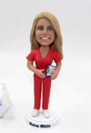 Custom Nurse Bobblehead