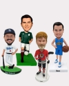 4 Fully Custom Bobbleheads- personalized dolls for team