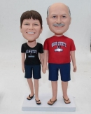 Ohio Style cake toppers-custom bobbleheads