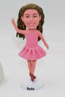 Custom ballet dancer bobbleheads