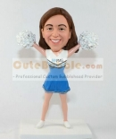Cheerleader bobblehead doll
