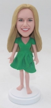 Custom Bobblehead speical gift for mother