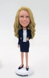 Custom bobblehead- office lady