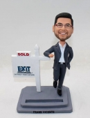 Personalized bobbleheads - gift for Realtor