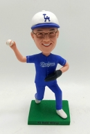 Custom bobblehead-Dodgers baseball uniform