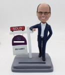 Custom Realtor Bobblehead-as a gift