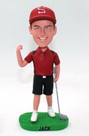 Christmas gift for boss- golf bobblehead