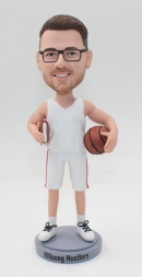 Gift Bobblehead-Basketball player with Bible